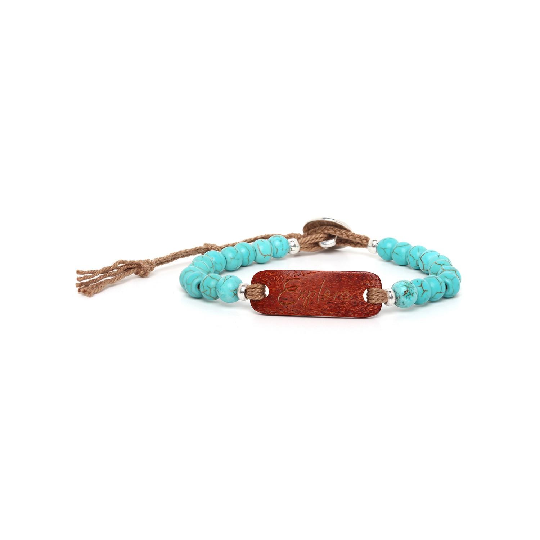 EXPLORE bracelet howlite sibucao