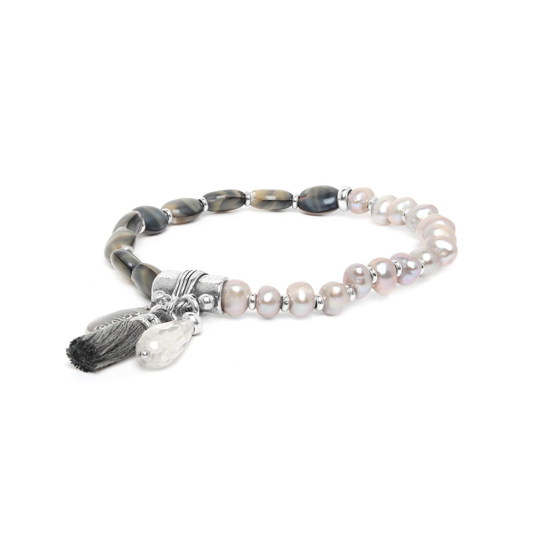 LES DUOS FWP & granite bracelet