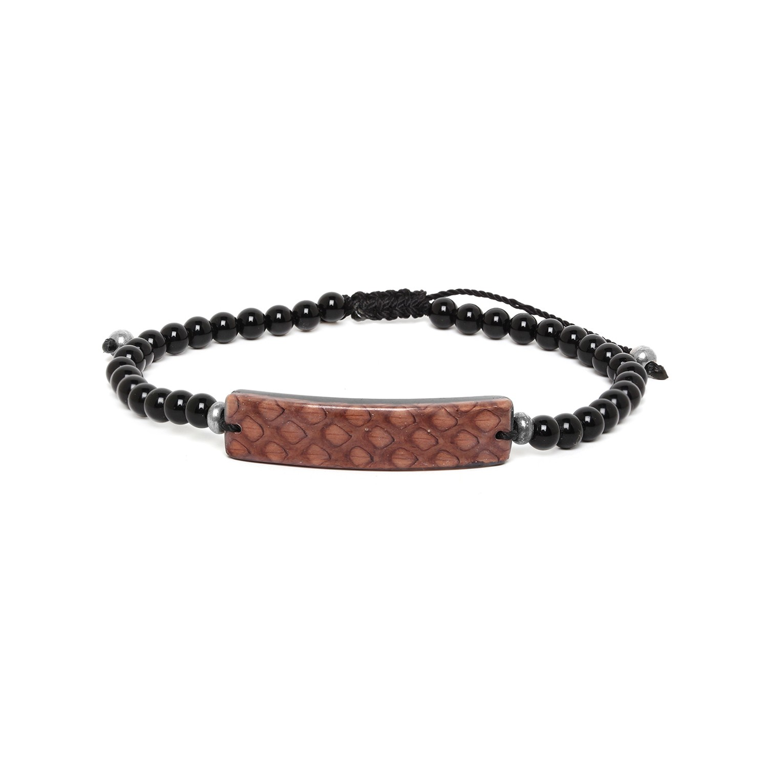 SERPENT bracelet homme marron