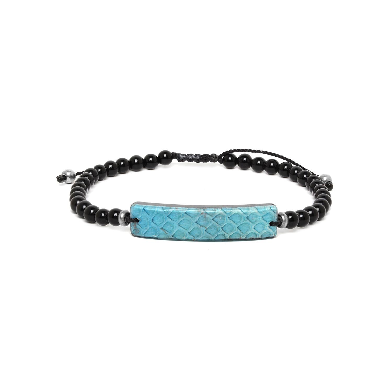 SERPENT bracelet homme turquoise