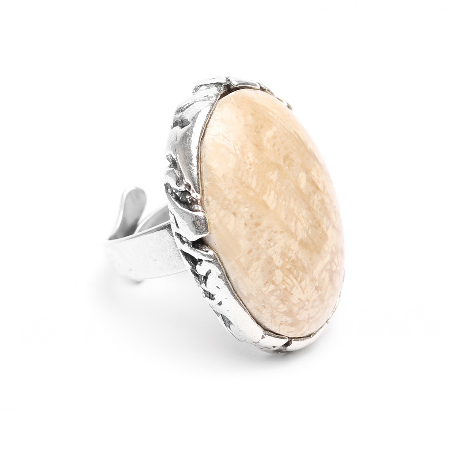 ANAY bague fossile