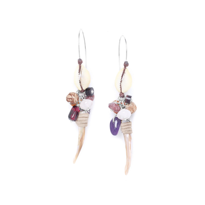 TALISMAN boucles d'oreilles crochet XL