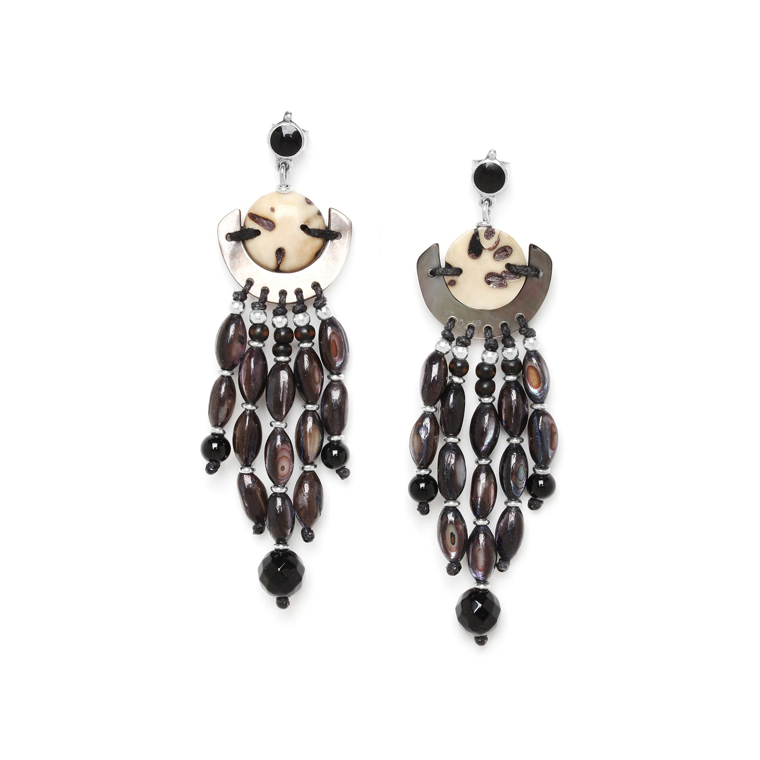 SERVAL waterfell earrings