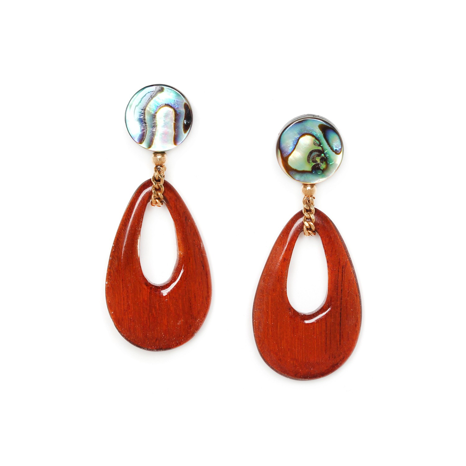 PLUMAGE sibucao drop earrings