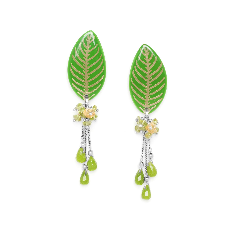 HERBORISTE 3 drops earrings