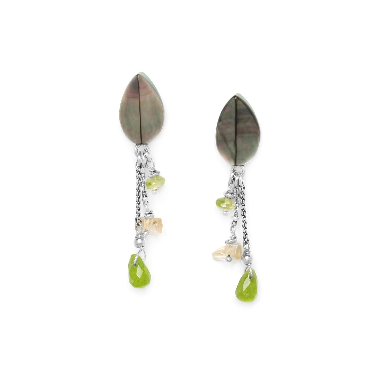HERBORISTE 3 dangles earrings
