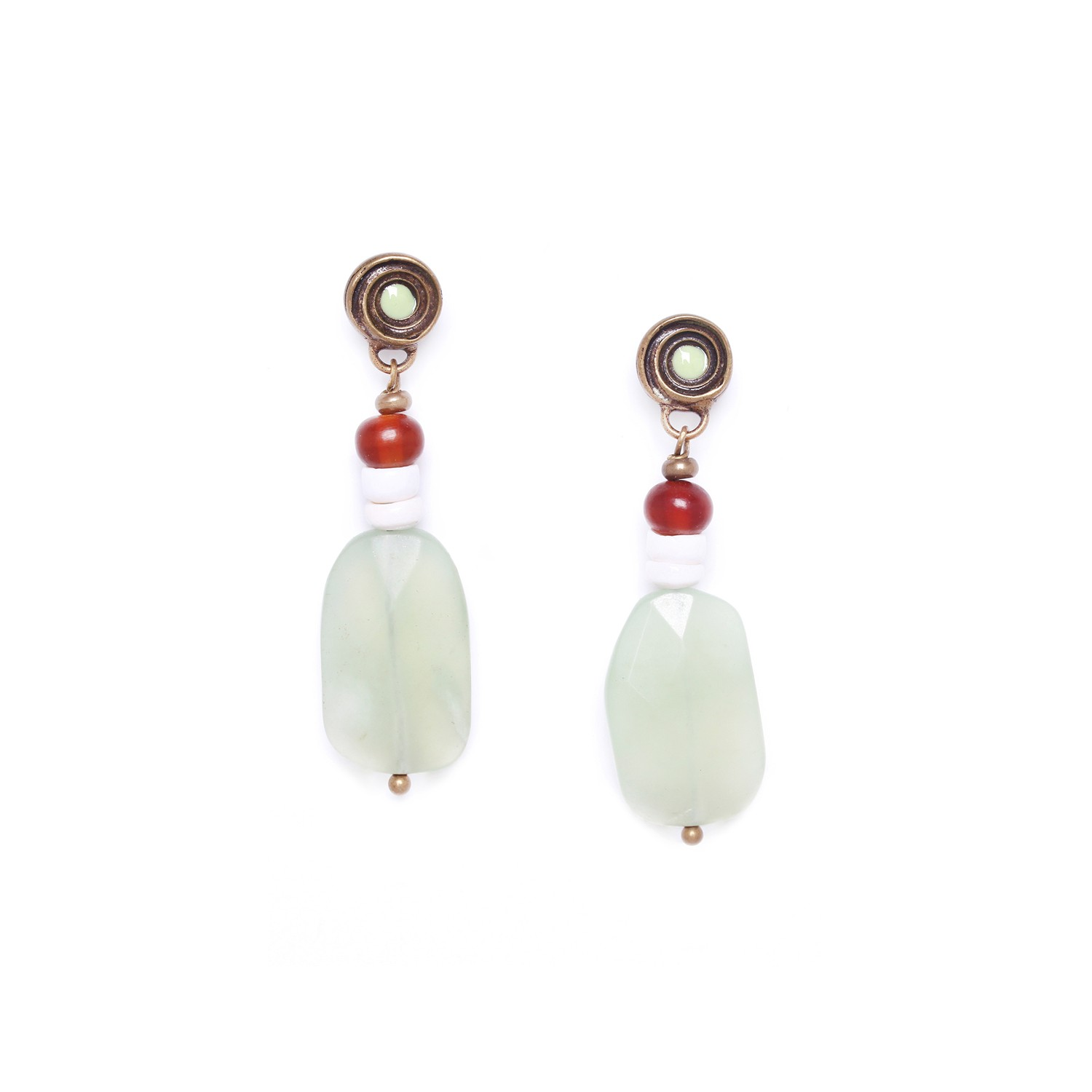 MAMBARE jade earrings