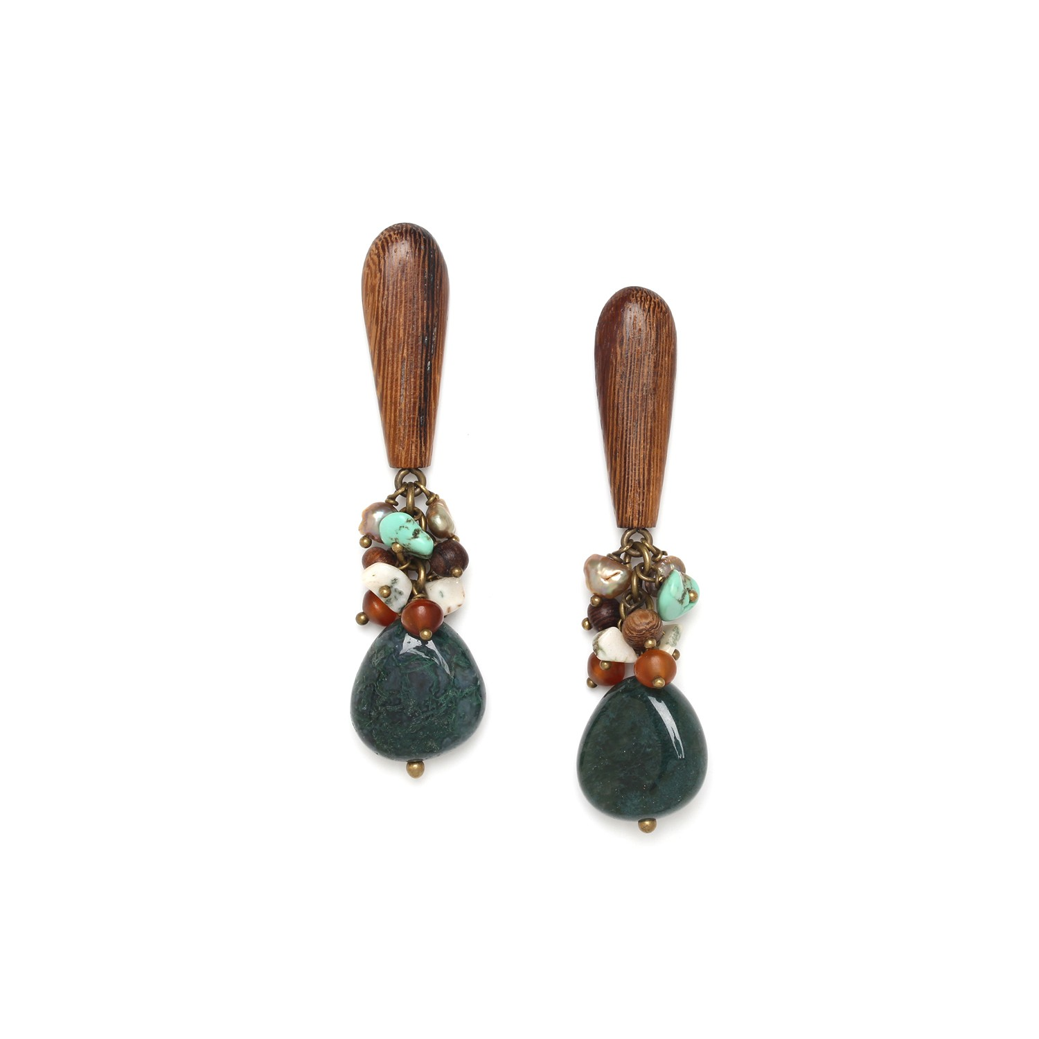 FOREST THERAPY boucles d'oreilles top robles