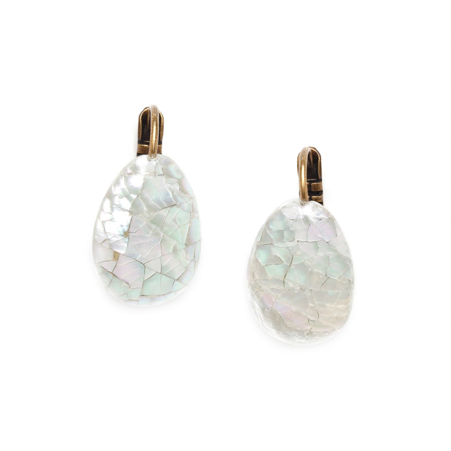 FOREST THERAPY boucles d'oreilles cracking