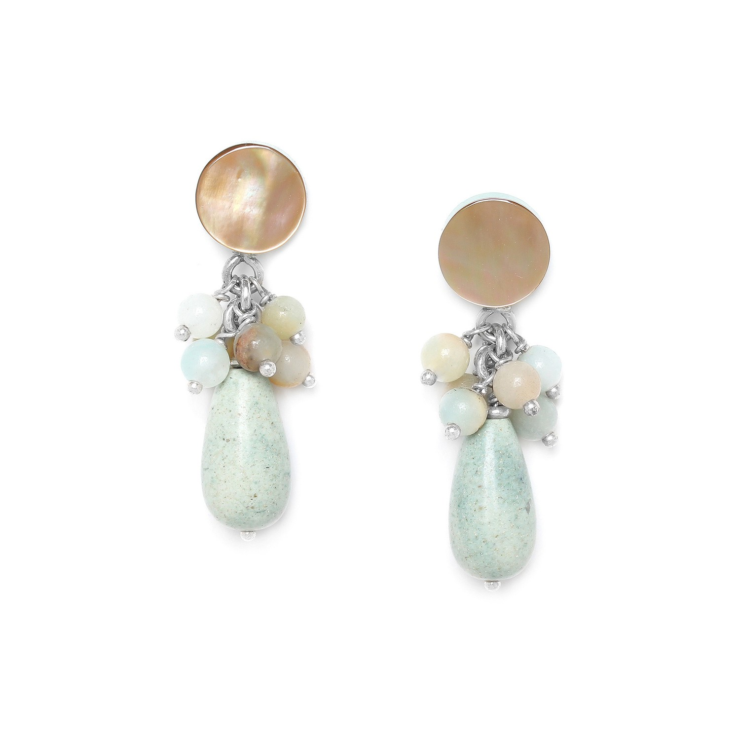CAMARGUE drop & grape earrings