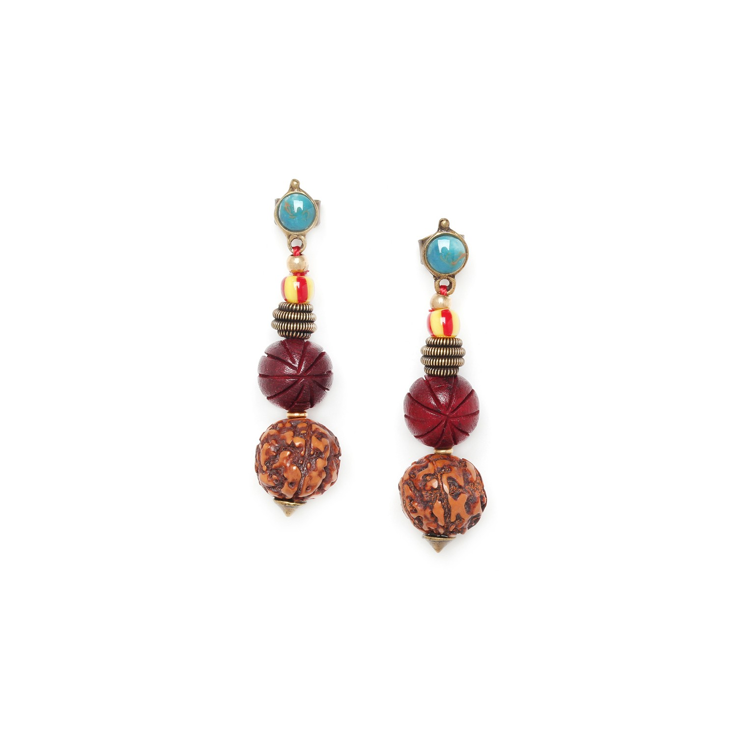 ULUWATU graduated earrings