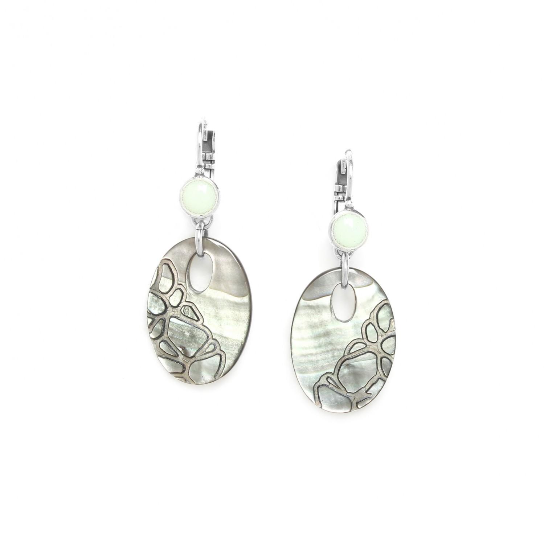 FROZEN FJORD french hook earrings