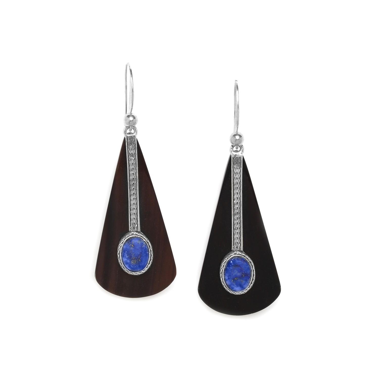 KABYLIE triangle on hook earrings