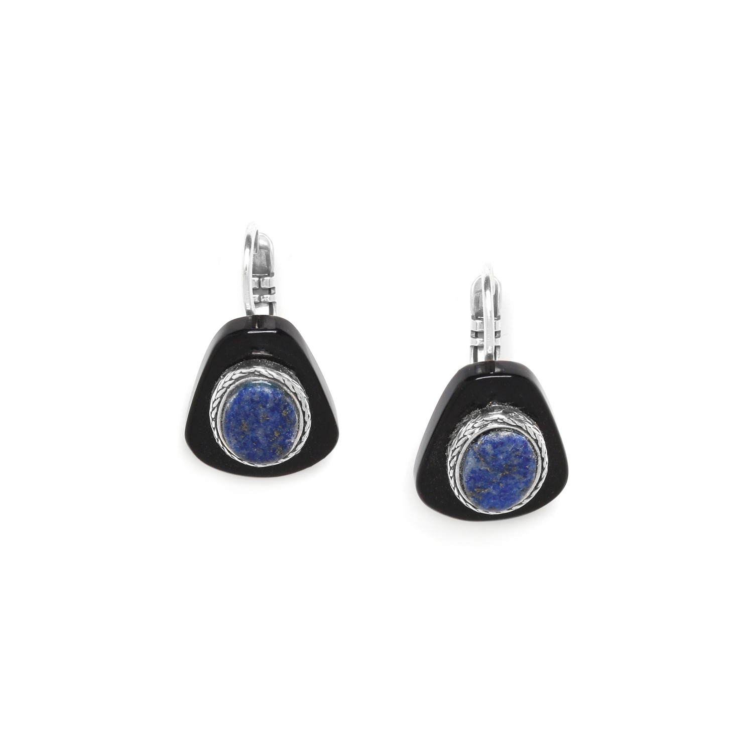KABYLIE horn french hook earrings