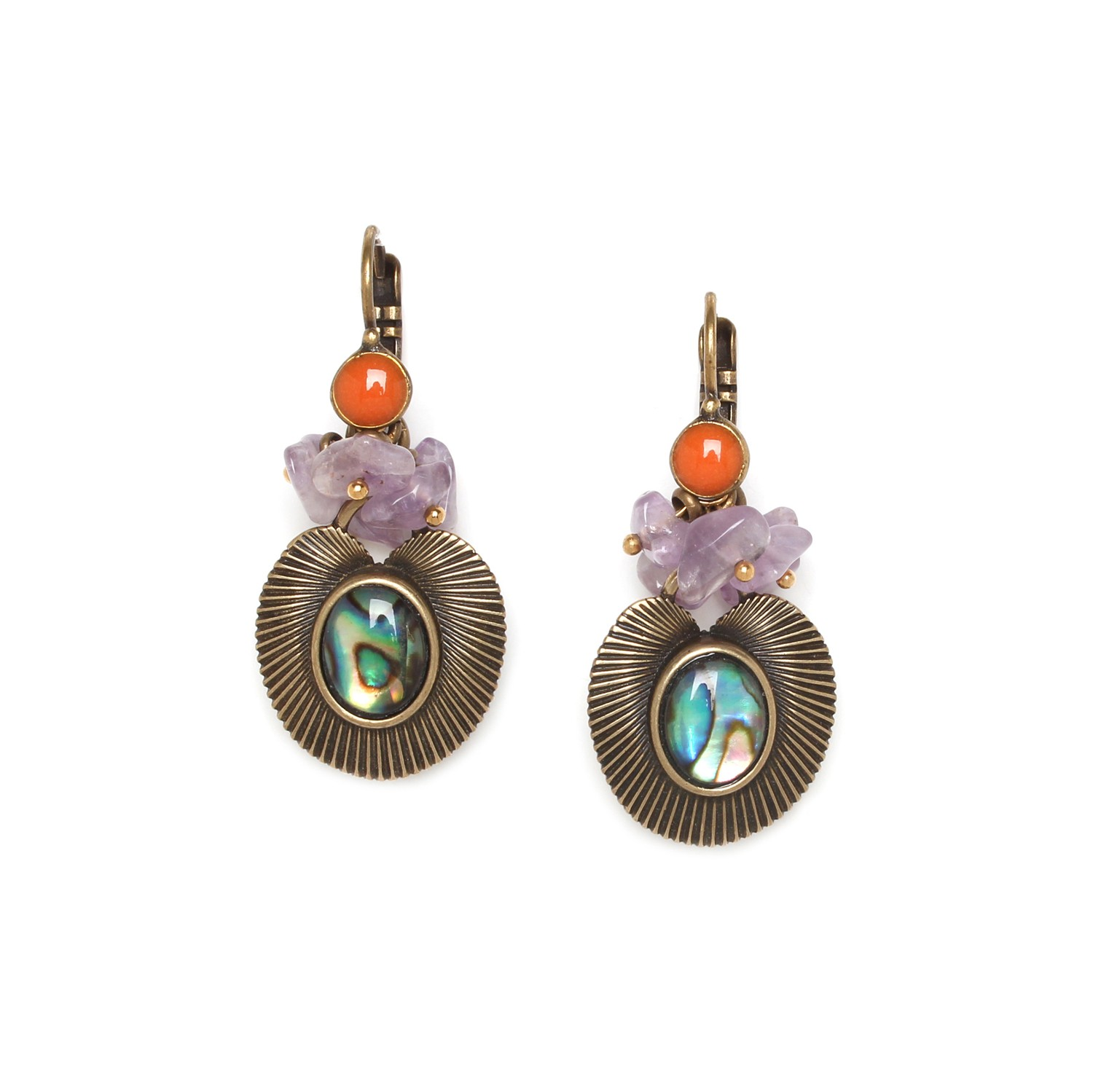 MYSTIQUE grape earrings
