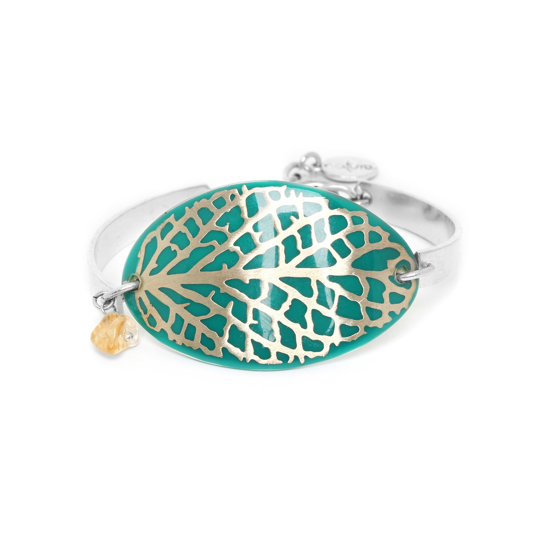 HERBORISTE dark green bracelet