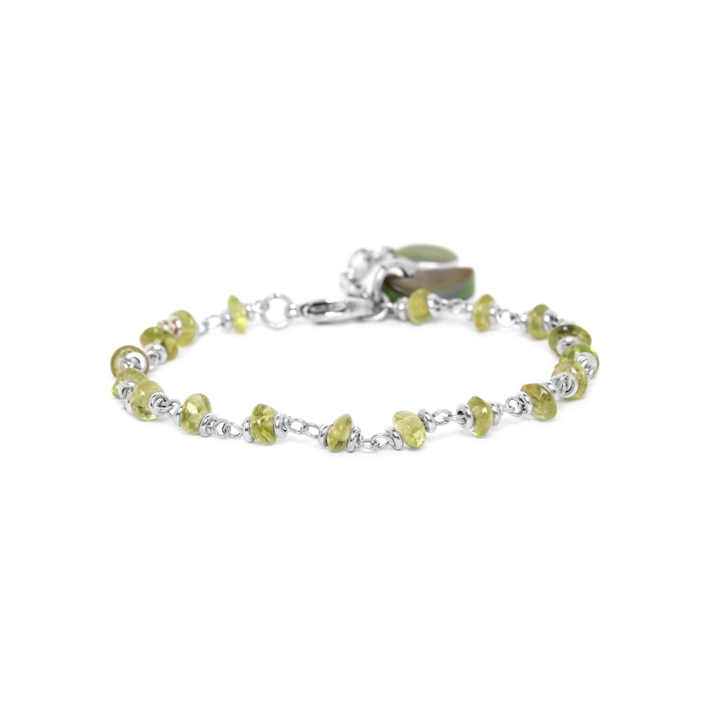 HERBORISTE bracelet peridot