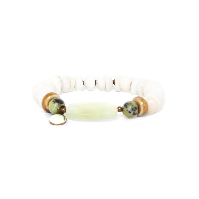 MAMBARE heichi & jade bracelet