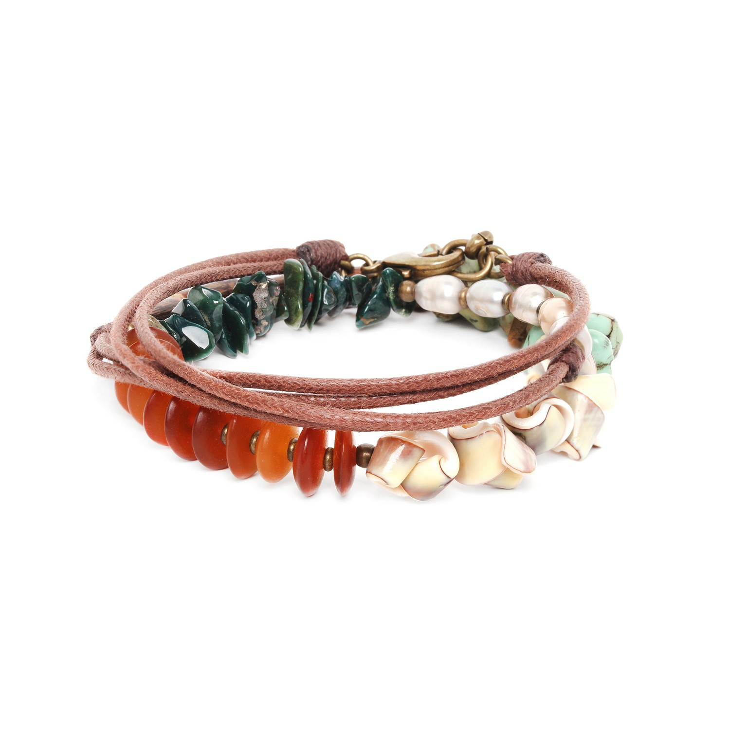 FOREST THERAPY bracelet 3 tours