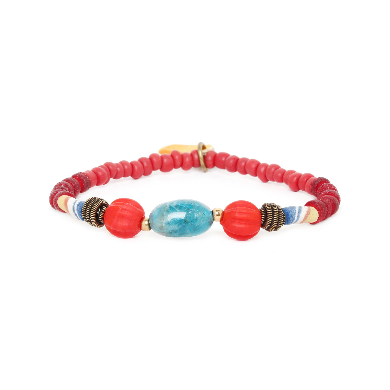 ULUWATU bracelet extensible apatite