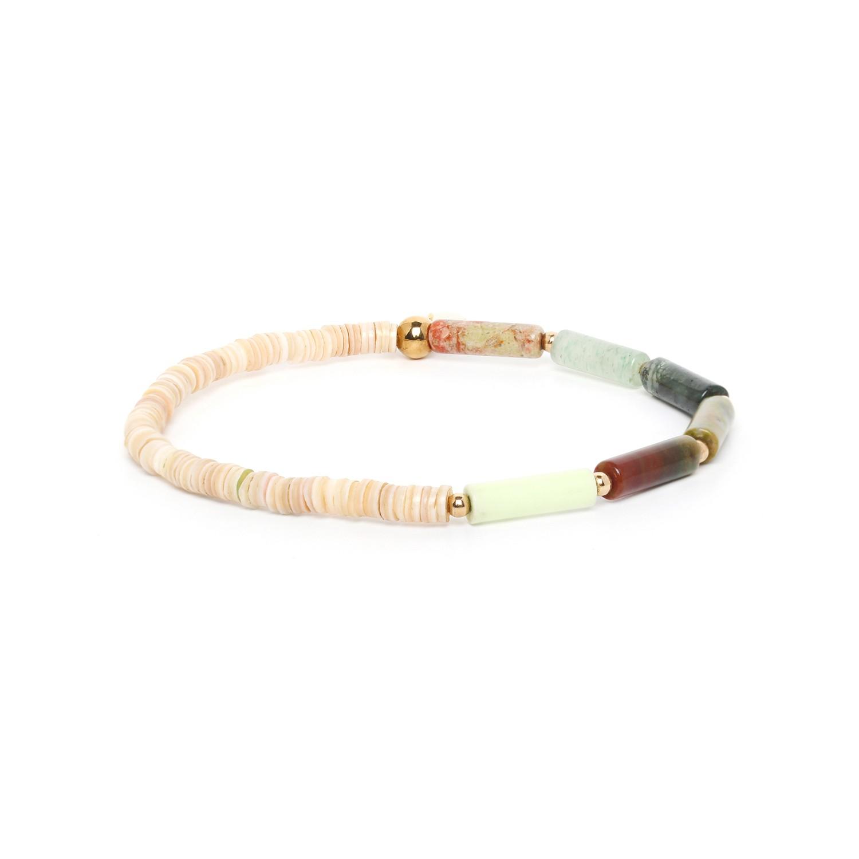 PIPELINE bracelet nuances verte