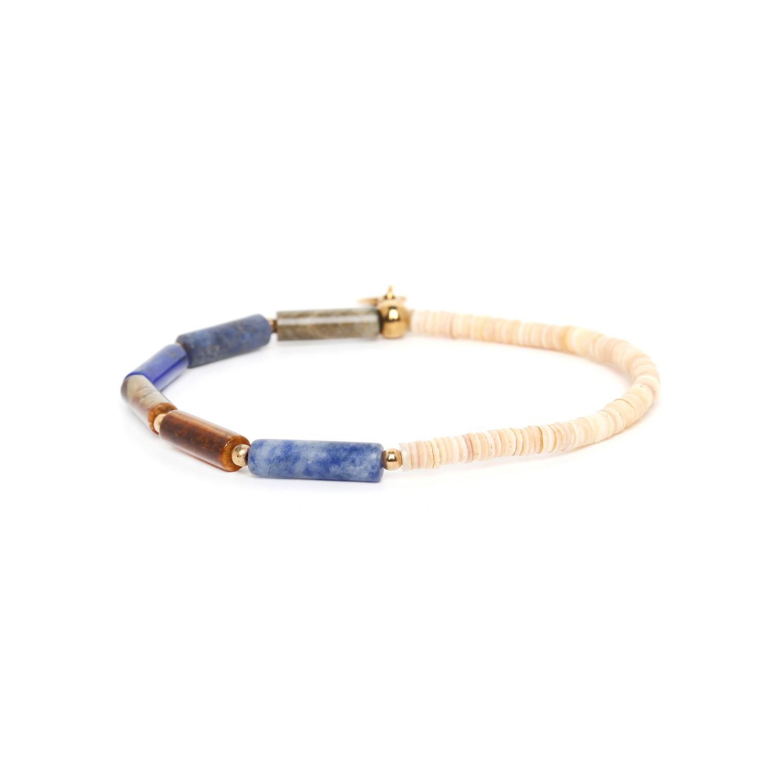 PIPELINE bracelet nuances bleu