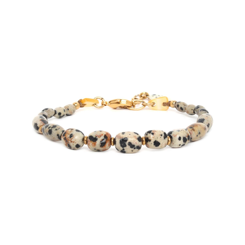 TIZI OUZOU dalmatian jasper bracelet