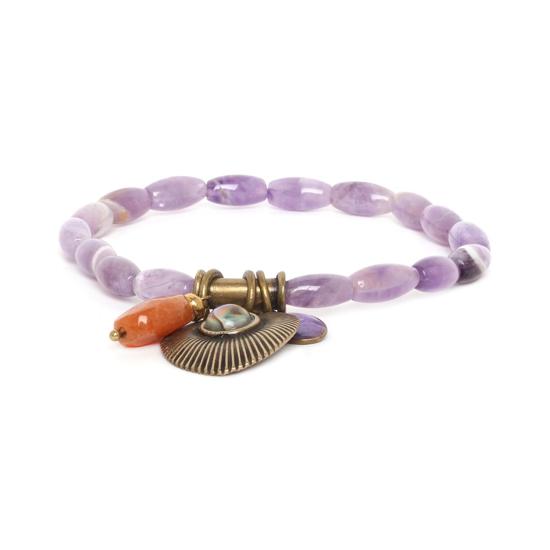 MYSTIQUE amethyste bracelet