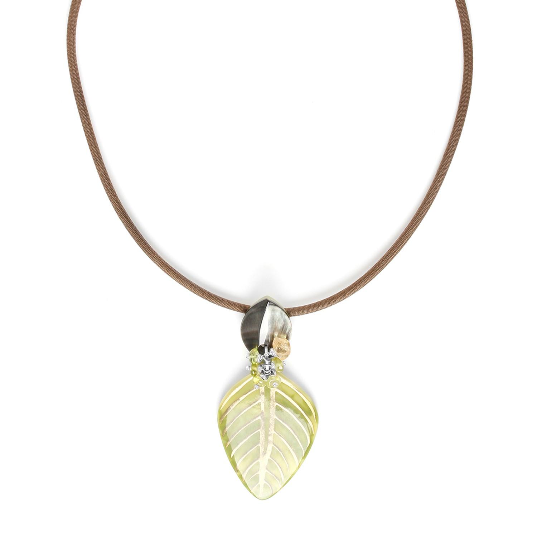 HERBORISTE bicolor necklace
