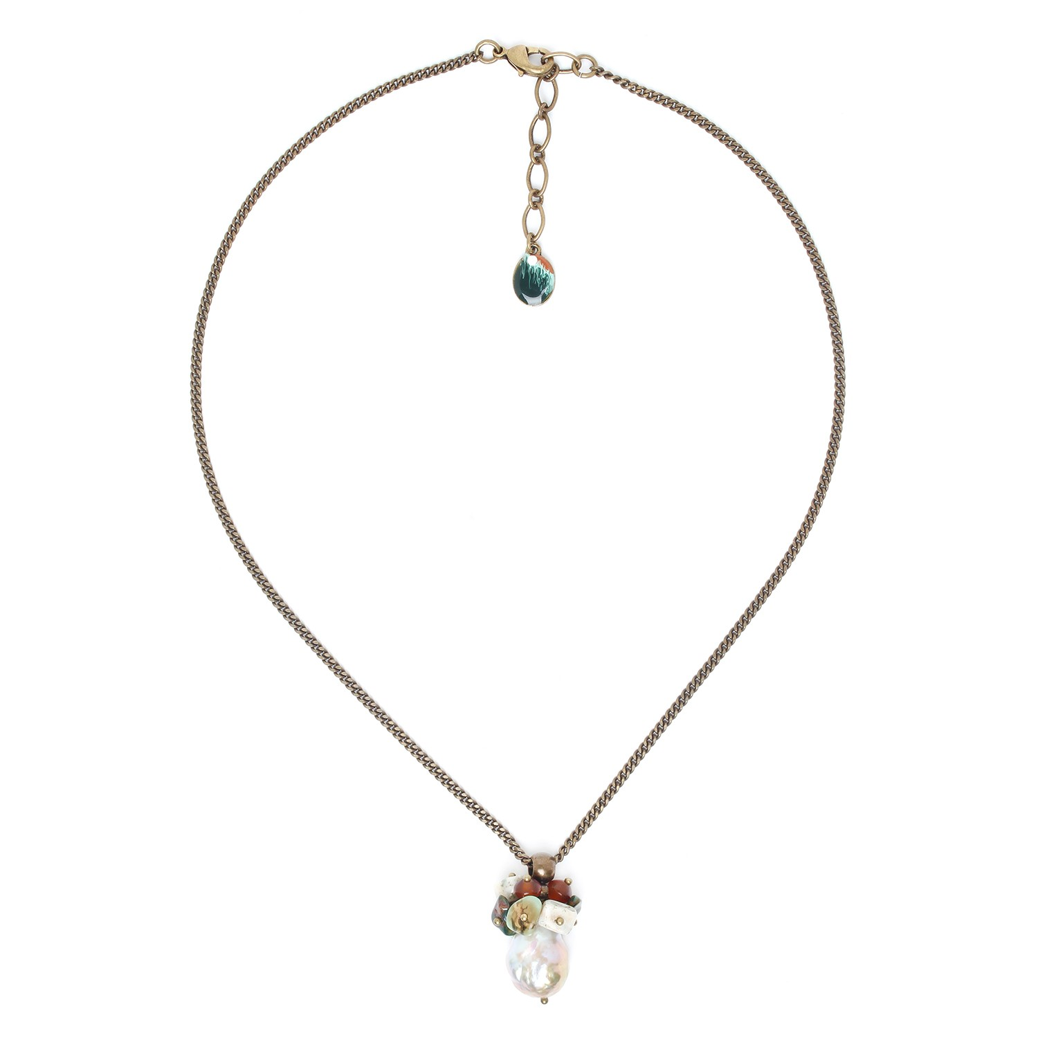 FOREST THERAPY biwa pearl necklace