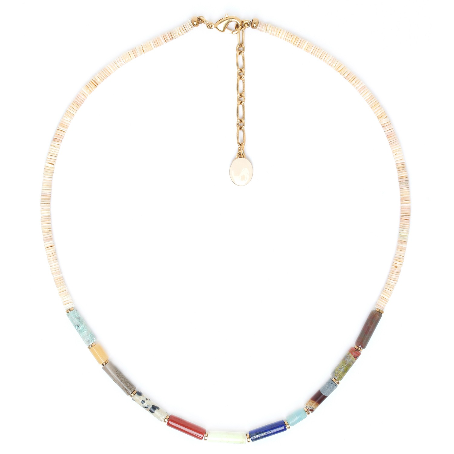 PIPELINE heishi necklace