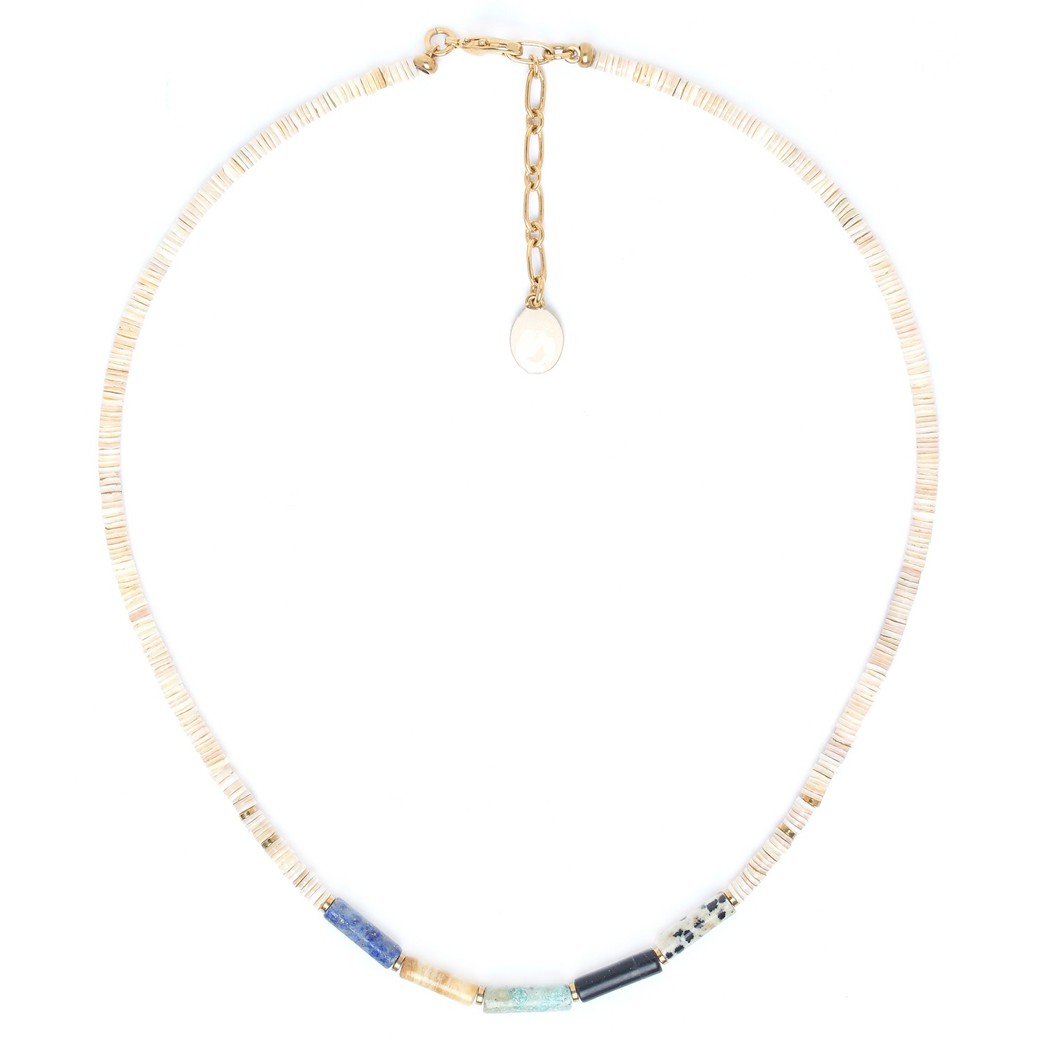 PIPELINE simple heishi necklace