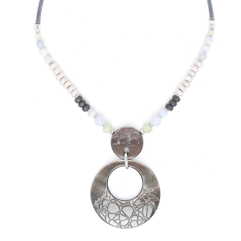 FROZEN FJORD collier pendentif