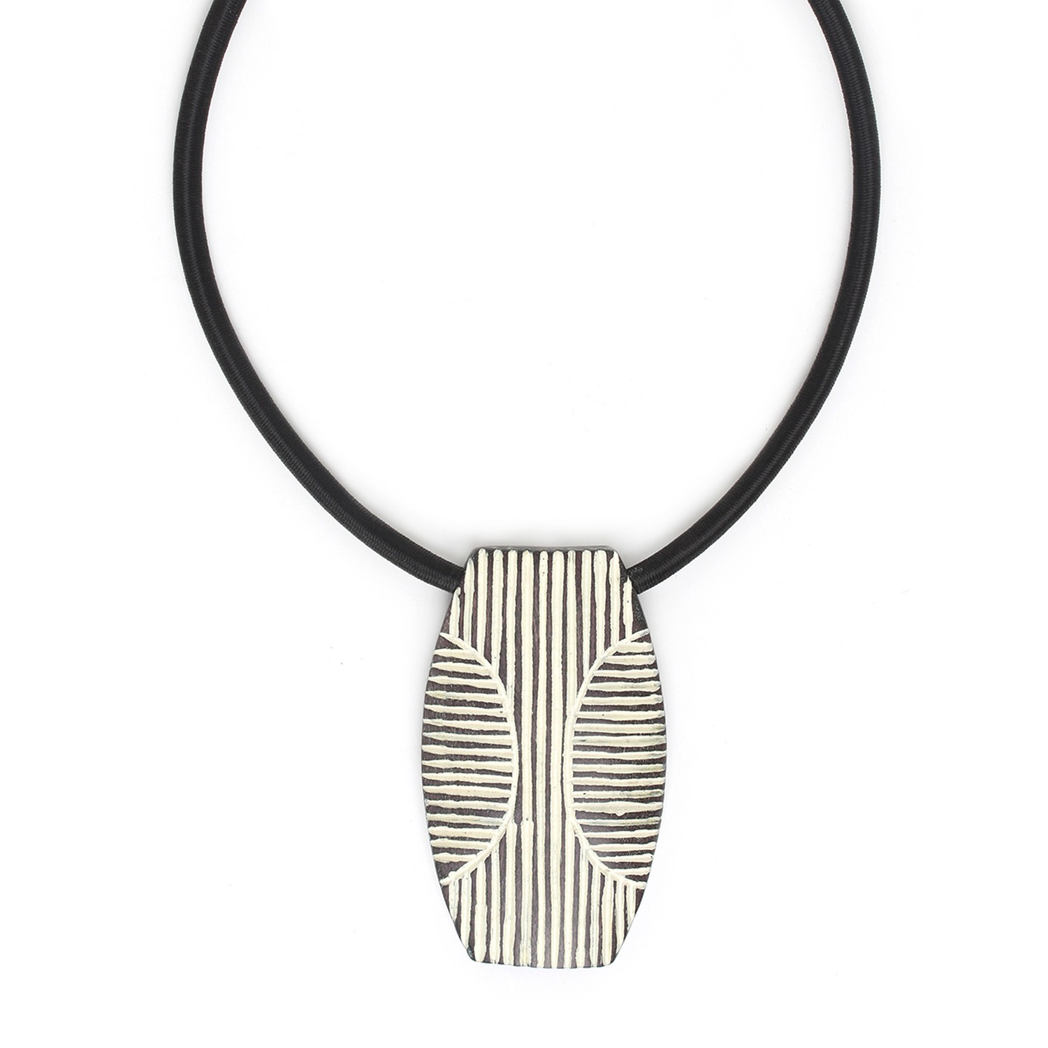 ZULU long shield necklace