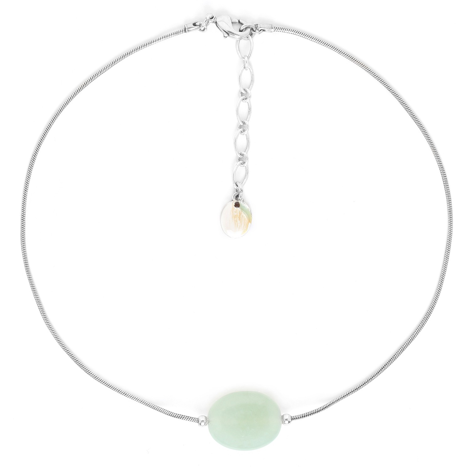 GALETS jade necklace