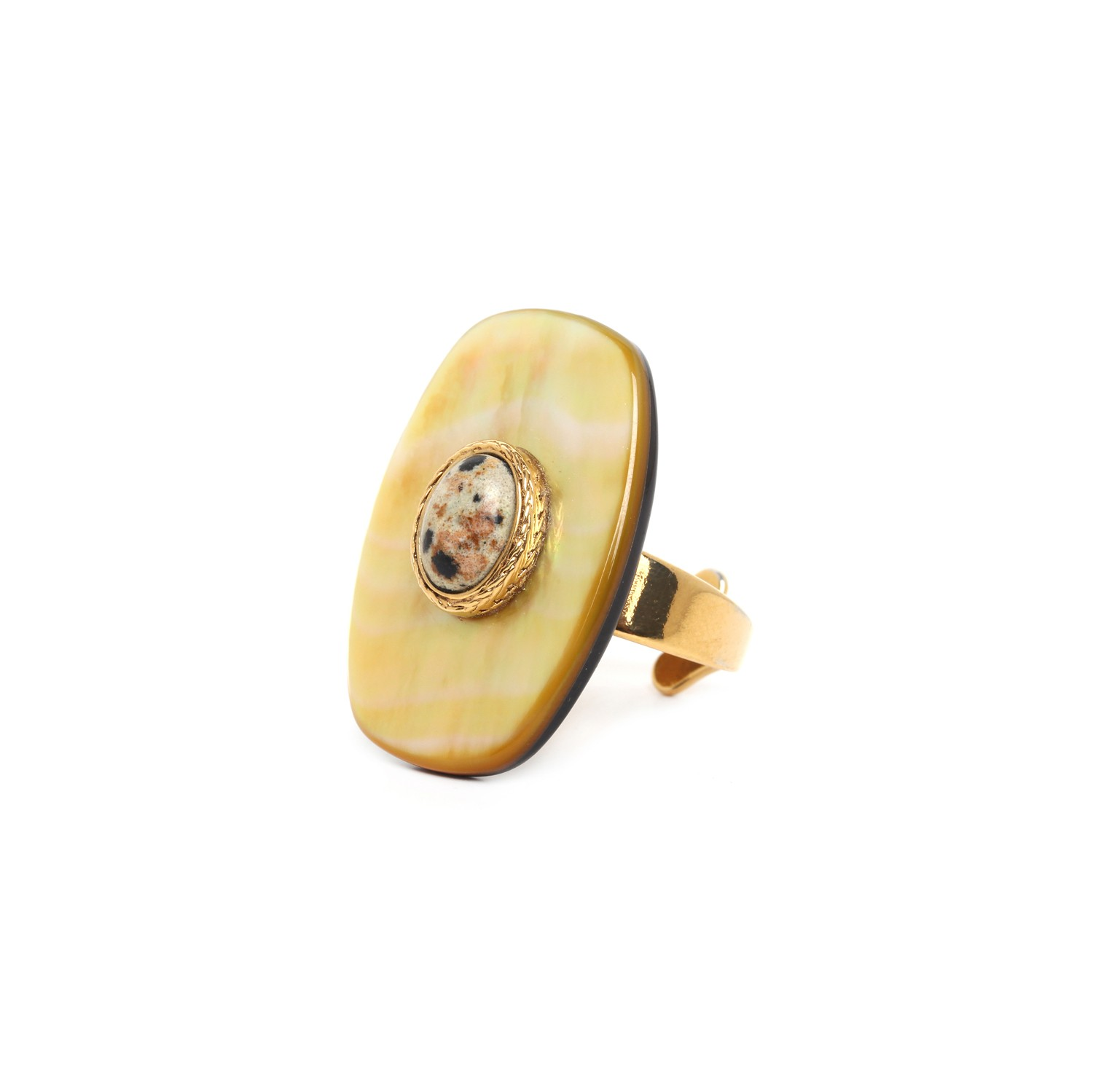 TIZI OUZOU shield ring