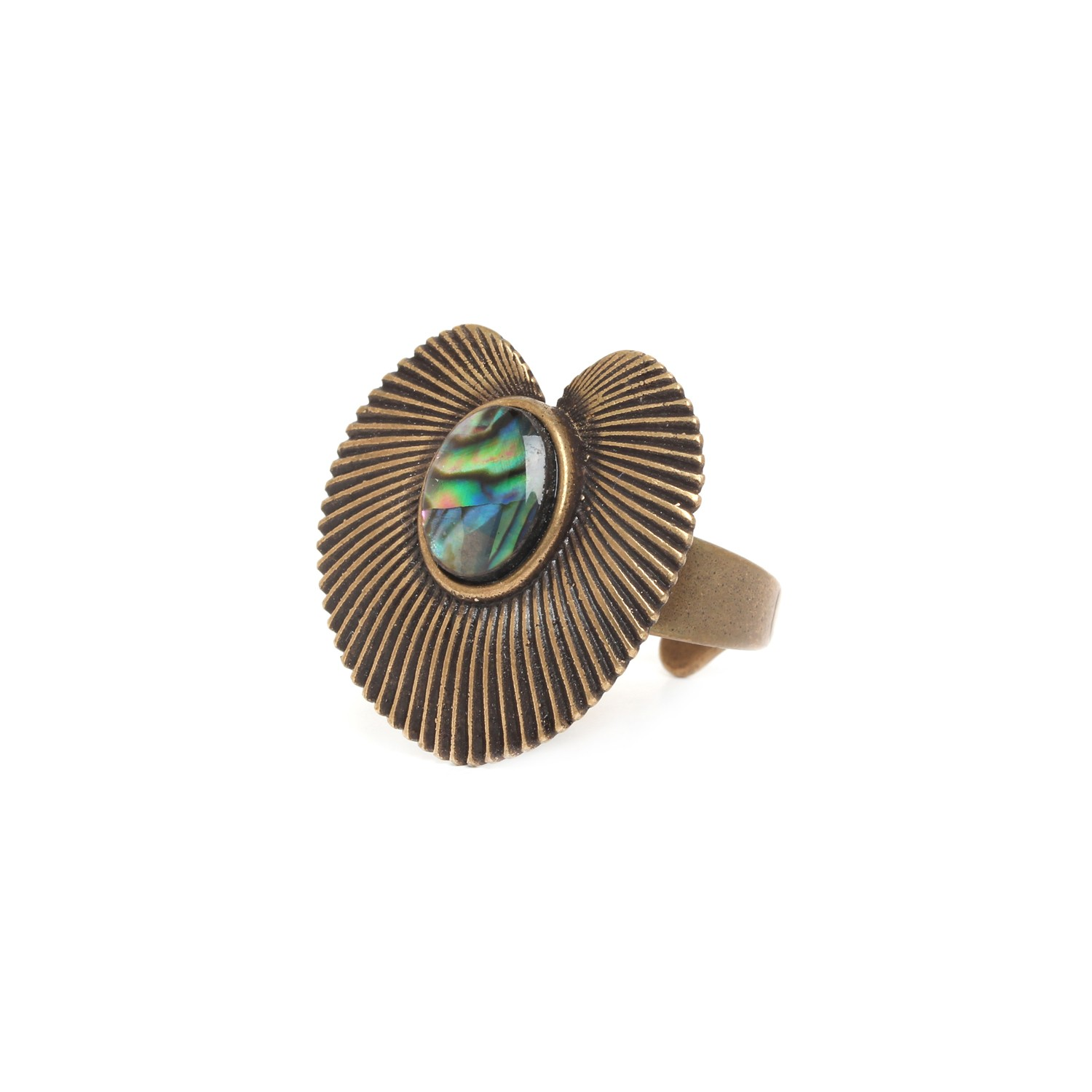 MYSTIQUE paua ring