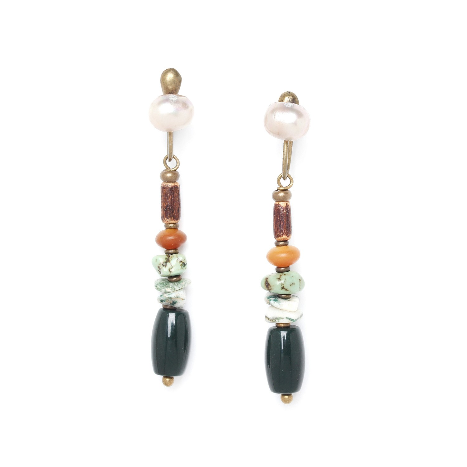 FOREST THERAPY long earrings