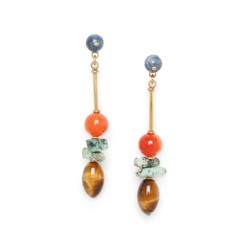 MINERA long earrings