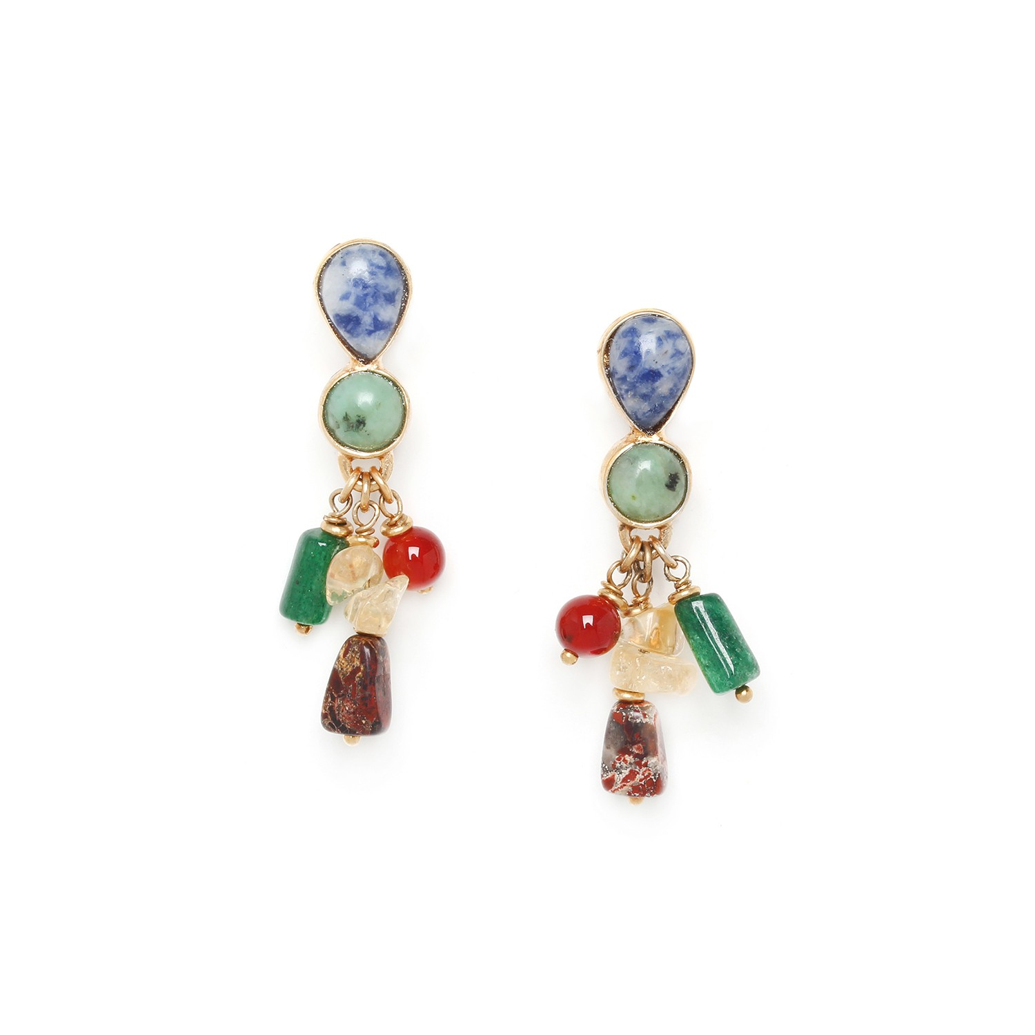MINERA dangles earrings