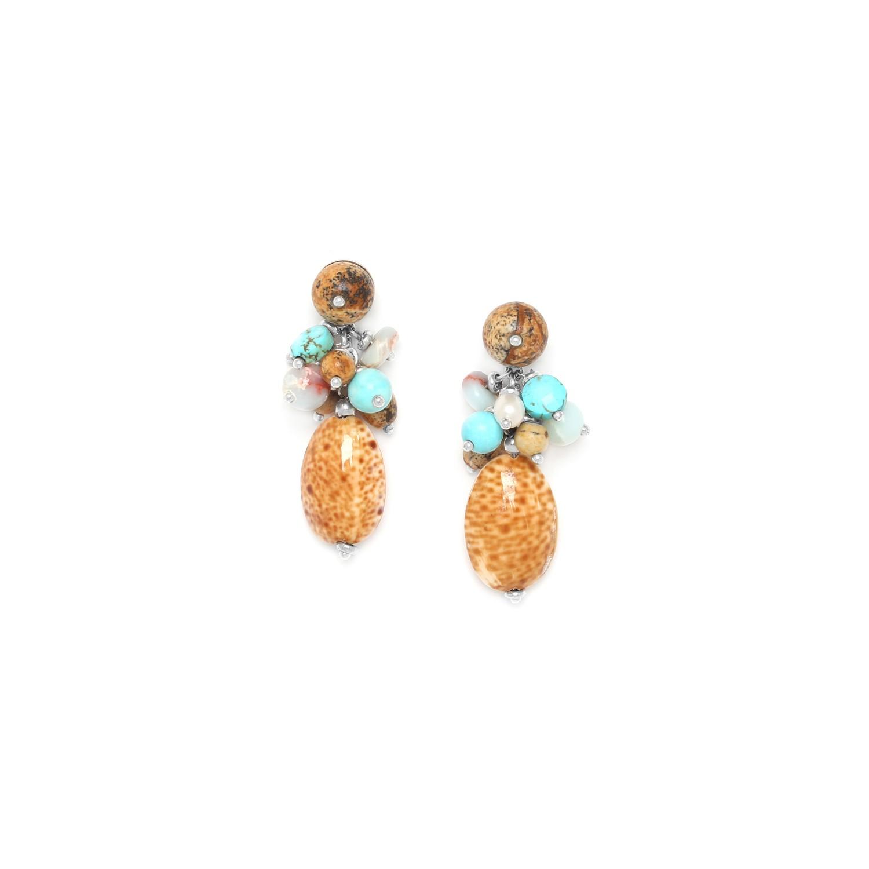 COLORADO grape earrings