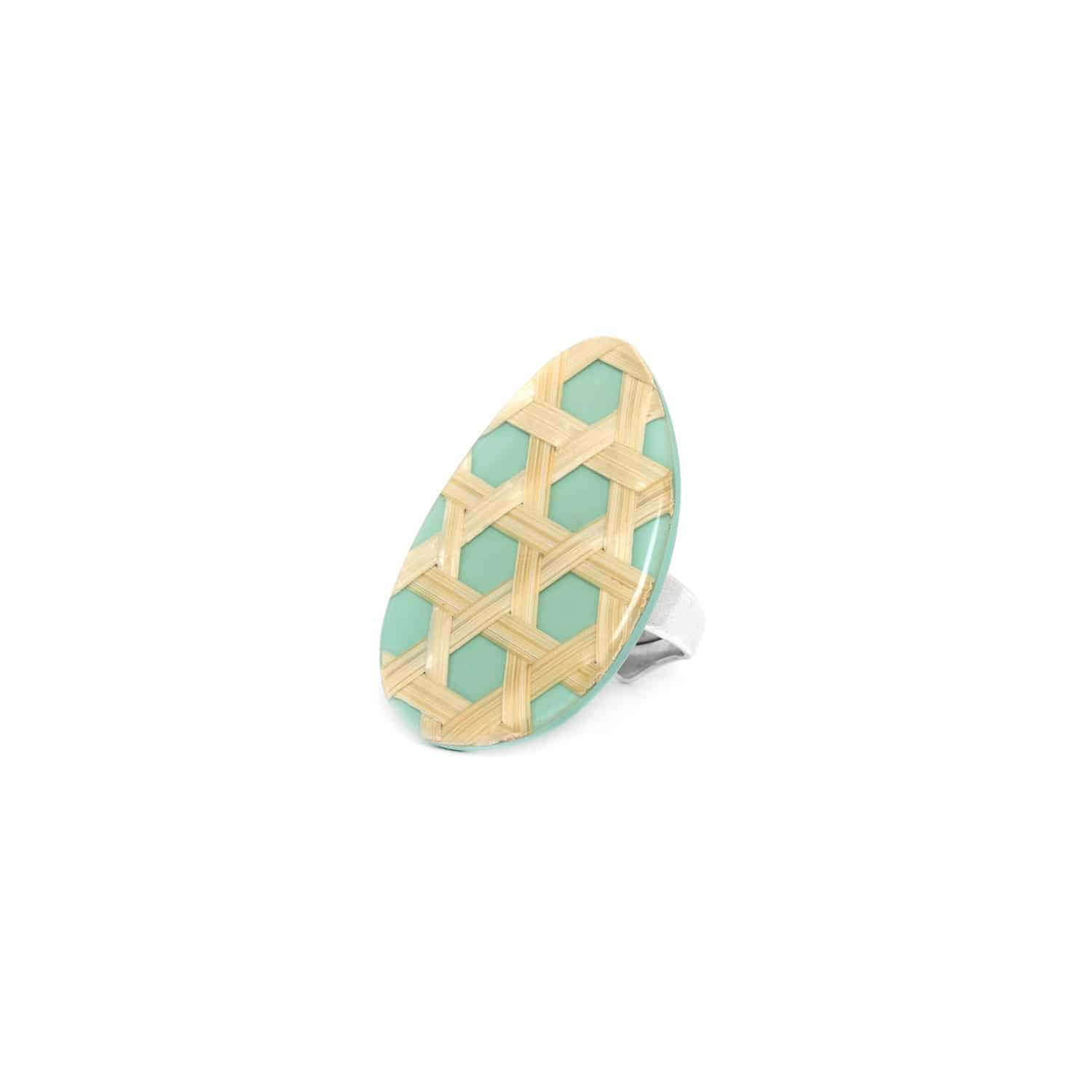 CANNAGE bague turquoise