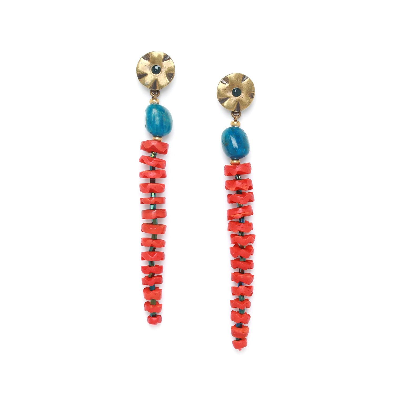 PIGMENTS long earrings