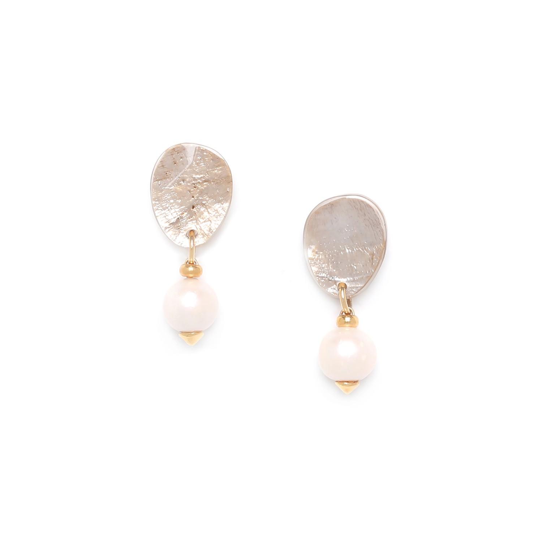 SWEET PEARL one pearl small earrings