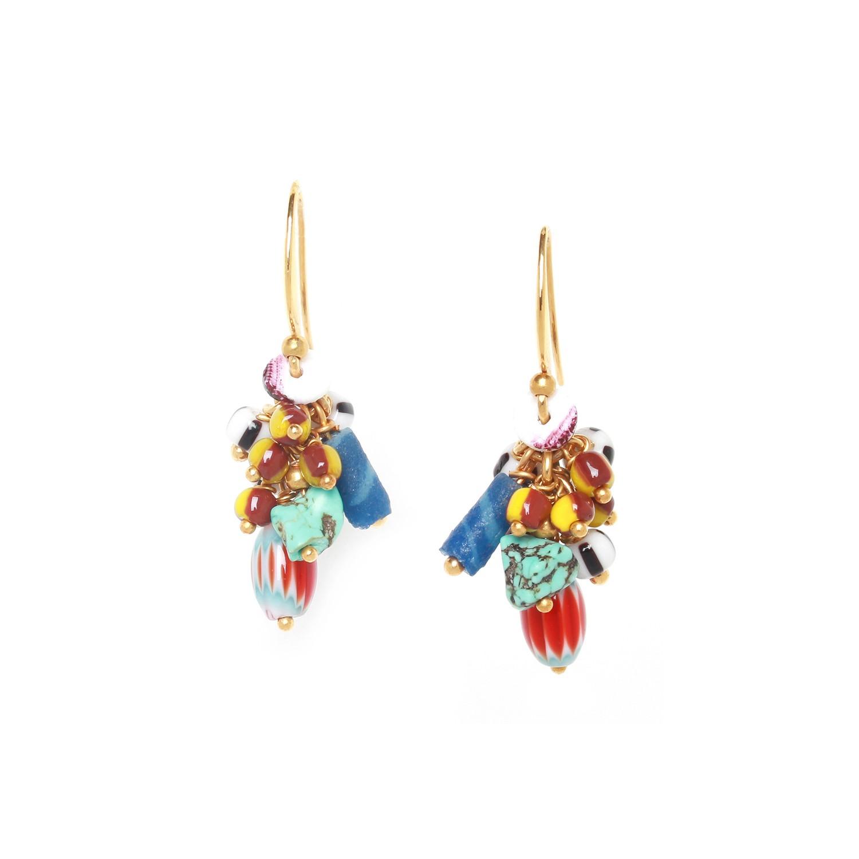 KALI ethno grapes earrings