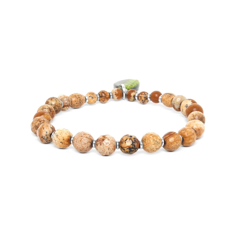MAMBE bracelet extensible jaspe