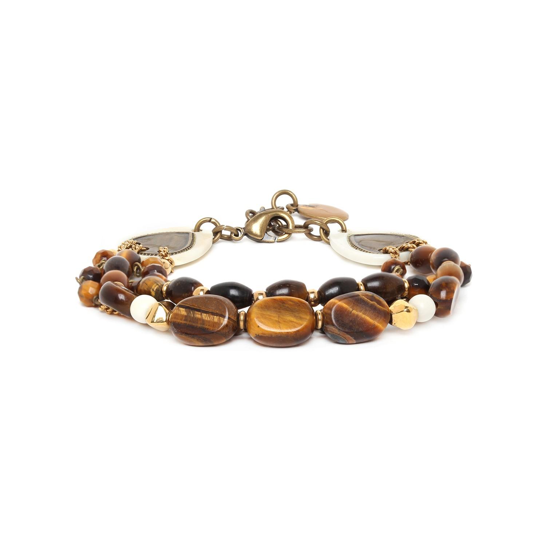 VARANASI bracelet trois rangs