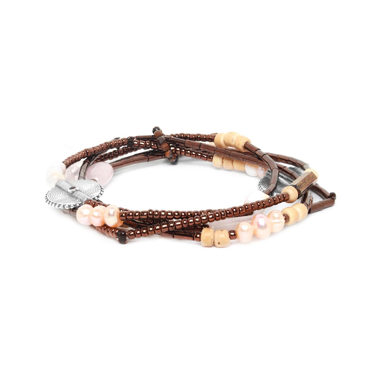 TERRE DOUCE bracelet 3 tours