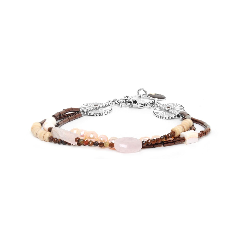 TERRE DOUCE bracelet 3 rangs