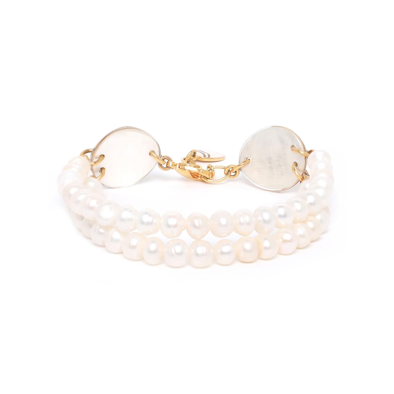 SWEET PEARL bracelet 2 rangs perles de culture